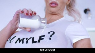 MYLF - Perfect Body Milf Gags On A Huge Cock Young Stud