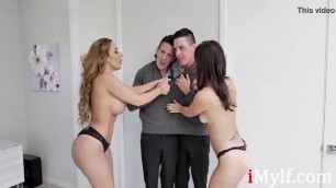 Twin Brothers Trick Horny MILFS Into Fucking- Alana Cruise, Richelle Ryan