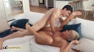 Lil Humpers Big Tit Milf Ryan Keely Fucks Lil Jordi El Niг±O Polla Beautiful Boobs