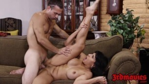 Supreme MILF Mercedes Carrera fucked hard by a young stud