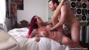 Big tits tattooed Tana Lea fucked